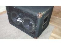 Pair of Peavey Bass Bins For Sale - Grab a Bargain!!