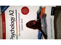 A Level Psychology - A2 - AQA 'A' The Complete Companion Student Book