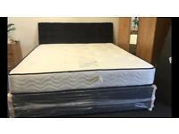 Ex display super kingsize bed and mattress