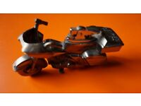 LIGHTER HEAVY METAL TABLE LIGHTER MOTOR BIKE MOTOR CYCLE