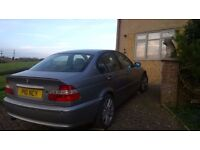 BMW 3 Series: Auto, 2ltr, Petrol New Tyres , 4 door private plates