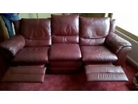 3 Seater Recliner Sofa - Free for pick up
