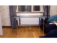 Extending Glass Dining Table - Free
