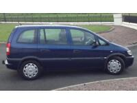 DIESEL 7 SEATER VAUXHALL ZAFIRA 2.0L (2004) low 75k miles year mot WITH TOW BAR