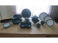 """Denby """" Greenwich"""" Dinner service 49 pieces (Collection only)"""
