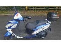 Sinnis shattle 125cc moped