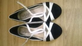 lovely pair of flat shoes
