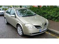 Nissan primera 1.8 1 previous owner and new clutch