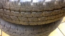 6 Transit/LDV Tyres Winter tyres on rimms 175 commercial