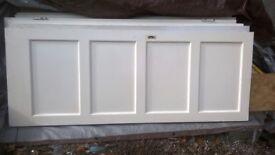 internal white wood doors
