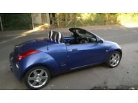 Ford Street KA luxury Convertable only 39360 miles from new, new MOT with full service history