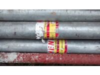 SIZE 2 ACROW PROPS 2m-3.5m HEAVY DUTY GALVANISED 3000kg LOAD