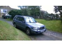 Subaru Forester 2.0L petrol, one lady owner from new, 108K, 2005