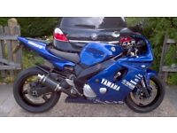 YAMAHA FZR600R (project/spares repairs)