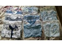Bundle of baby boy clothes 0-3