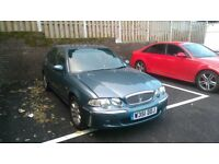 rover 45 5 door car 2 previous owners 53,755 mileage