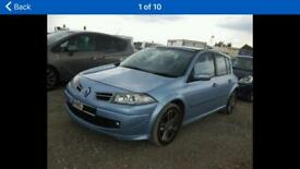 2008 RENAULT MEGANE GT DCI 2.0 FOR BREAKING ALL PARTS ON THE SHELF