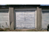 Single garages for sale in south London. Freehold