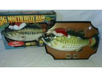 BIG MOUTH BILLY BASS SINGS FOR THE HOLIDAYS CHRISTMAS EDITION FULLY WORKING