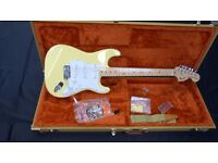 Fender 2013 Japan Limited Edition '72 Stratocaster (Vintage White) AS NEW