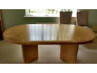 Large Ash Dining/Boardroom Table, Excellent condition