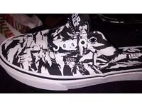 Vans starwars trainer new in box size 6 uk
