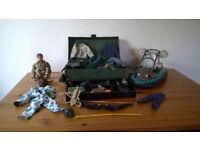 Action Man, equipment and accessories.