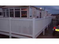 Willerby Granarda 2 bed sited sea front sunnyvale full varanda can view any time 07473875003