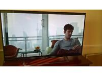 """JVC 49"""" TV LT49C550 with stand and remote 220£ only"""
