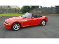 1997 bmw z3 roadster. Came elderly owner last 8 years. Lovely condition. Lots of service history