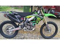 Kawasaki fx450 moto cross