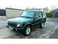 2004 LAND ROVER DISCOVERY II 2.5 TD5 LANDMARK FACELIFT 7 SEATER MOT SERVICE HISTORY SUPERB 4X4