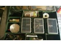Fox tackle box full of end tackle