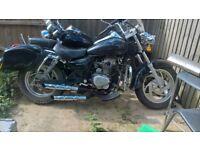 black pioneer 125cc