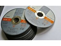 25 Cutting discs 115x1x22 angle grinder discs inox ,steel , metal,