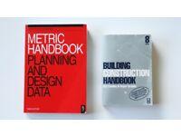 ARCHITECTURE TEXTBOOK SET: Metric Handbook & Building Construction Handbook