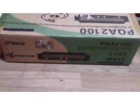 Amplifier Pyle 2100 watt brand new