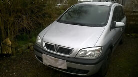 Vauxhall Zafira for Spares or Repair