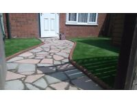 Garden Landscaping / Decking / Artificial Grass - Free Call / Free quote 0800 612 2181