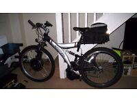 Electric Bike 500w 36V, full suspension