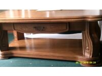 Belgium Coffee Table. L 48 W 25 H 18 inch