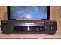 SONY SLV-E230 VHS VCR + REMOTE & SKART