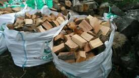 Logs large dumpy bag mixed logs tel ade 07783501254 thanks