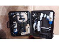 Drill, Sander, Grinder & Jigsaw Set Unused Combo Kit