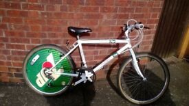 7 up mountin bike , retro gift , old school cool,