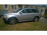 Volvo XC90, 2005, 188,000miles, Silver Bodywork, Beige Leather, 7 Seats, Service History to 155,000