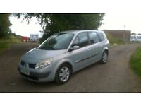 42K 7 SEATS 1.5 DCi people carrier
