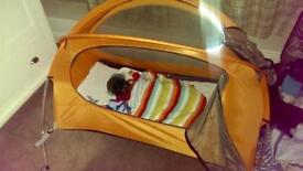 Nomad travel baby tent