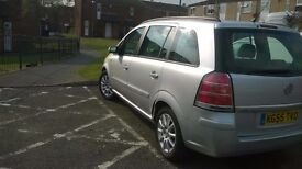 Vauxhall Zafira 7 seater in sound condition