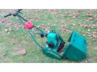 Qualcast Suffolk Punch Self-Propelled Stripes Lawnmower